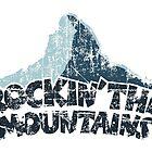 Rockin the Mountains Mountain Dark by theshirtshops