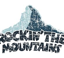 Rockin the Mountains Mountain Dark by theshirtshops
