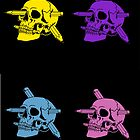 Skulls and Pencils by DUST2010