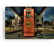 Gas Pump - Gulf Style Canvas Print