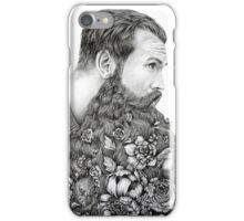 This Beard Is For You ( Beard Botanical) by April Alayne iPhone Case/Skin