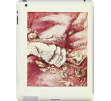 The Tailor of Gloucester Beatrix Potter 1903 0088 Fine Clothing iPad Case/Skin