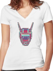 CHAPPiE Women's Fitted V-Neck T-Shirt