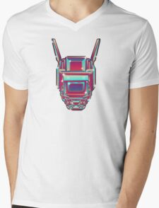 CHAPPiE Mens V-Neck T-Shirt