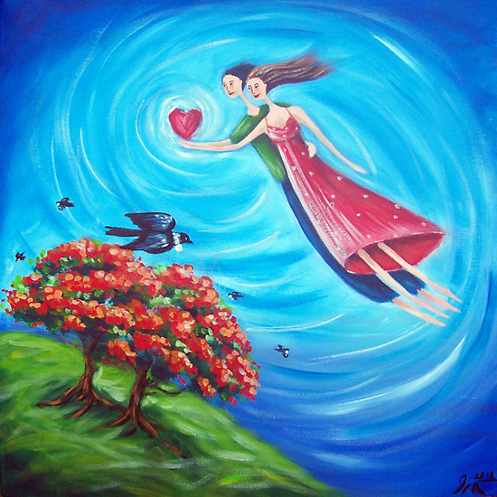 Blooming Love! by Ira Mitchell-Kirk