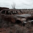 Derelict in the outback by Prijinth Vijayakumar
