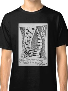 For the Love of Music Classic T-Shirt