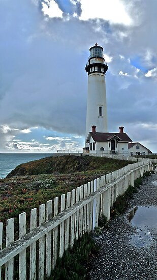 Pigeon Point Lighthouse by Scott Johnson