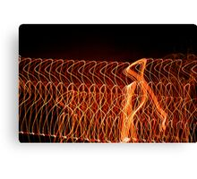 Suburb Christmas Light Series - Strut Canvas Print