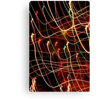 Suburb Christmas Light Series - Xmas 3hree Canvas Print