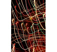 Suburb Christmas Light Series - Xmas 3hree Photographic Print