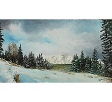 A beautiful winter day Photographic Print