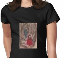 A Walk In The Woods Womens Fitted T-Shirt