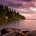 Finnish Lake by lucynab