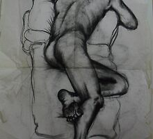 Very early nude.. Life Drawing Classes  ( 1981 ) by John Dicandia  ( JinnDoW )