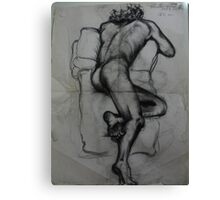 Very early nude.. Life Drawing Classes  ( 1981 ) Canvas Print