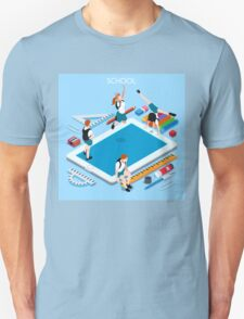School Devices Tablet T-Shirt