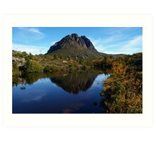 Deciduous Beech and Twisted Lakes, Cradle Mountain Art Print