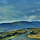 Homeward Bound ~ Ingleton Road, The 3 Peaks, by Sandra Cockayne