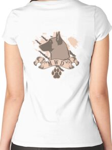Military Working Dog Women's Fitted Scoop T-Shirt