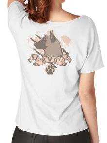Military Working Dog Women's Relaxed Fit T-Shirt