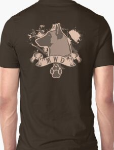 Military Working Dog Unisex T-Shirt