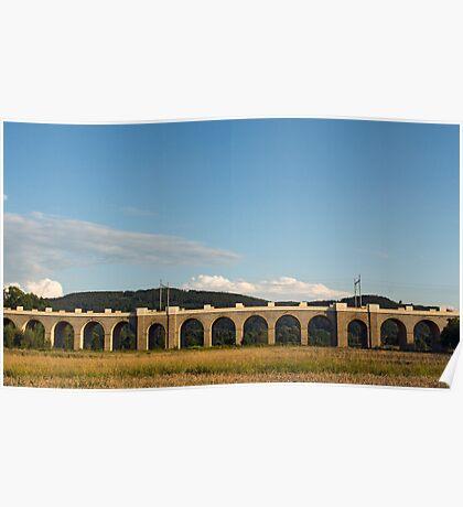 Jezernice Viaduct, Emperor Ferdinand Northern Railway Poster
