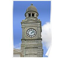 The Guild Hall Clock Tower, Newport Poster