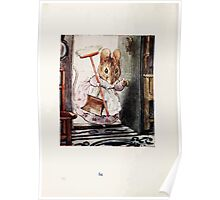 The Tale of Two Bad Mice Beatrix Potter 1904 0088 Sweeping Up Poster