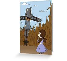 Hello Mr.Scarecrow! Greeting Card