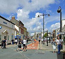 Upper St James Street, Newport by Rod Johnson