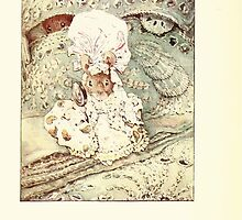 The Tailor of Gloucester Beatrix Potter 1903 0018 Mouse in Fine Clothing by wetdryvac