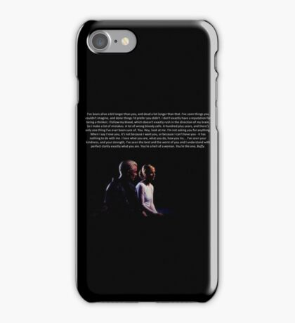 Buffy and Spike - You're the one, Buffy iPhone Case/Skin