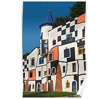 Kunsthaus, Rogner Bad Blumau, Austria Poster