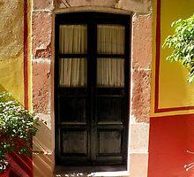 Visillos de una puerta..................... by cieloverde