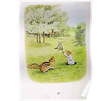 The Tale of Timmy Tiptoes Beatrix Potter 1911 0062 Nobody Answers the Bidrds Poster