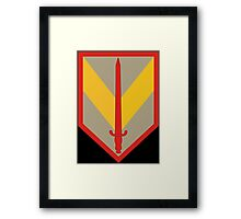 1st Sustainment Brigade (United States) Framed Print