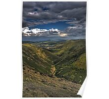 long mynd barren valley Poster
