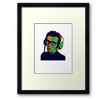 Elvis Costello T-Shirt Framed Print