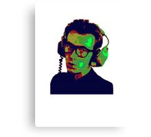 Elvis Costello T-Shirt Canvas Print