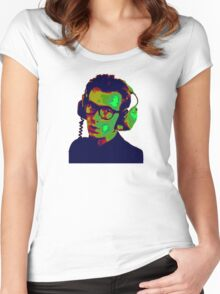 Elvis Costello T-Shirt Women's Fitted Scoop T-Shirt