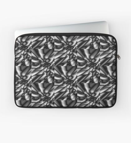 Black and white abstract background Laptop Sleeve