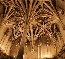 Chapel ceiling Musee de Moyen Ages, Paris by BronReid