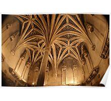 Chapel ceiling Musee de Moyen Ages, Paris Poster