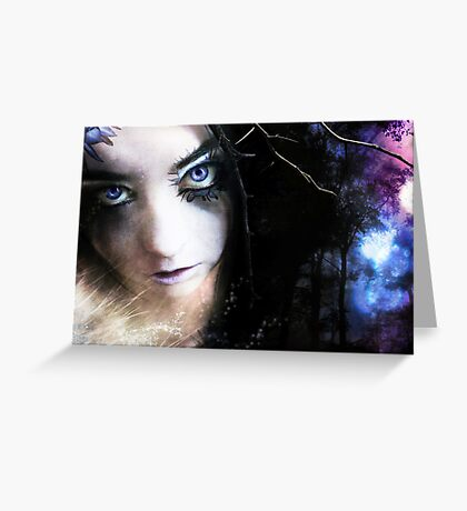 Black Orchid - Secret Keeper Series Greeting Card