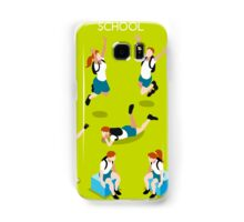 Students Set - Isometric People Samsung Galaxy Case/Skin