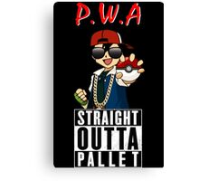 Straight Outta Pallet Canvas Print