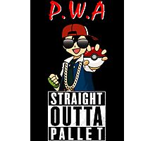 Straight Outta Pallet Photographic Print