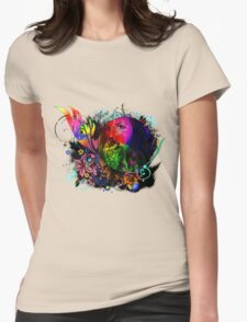 Rainbow Art Womens Fitted T-Shirt