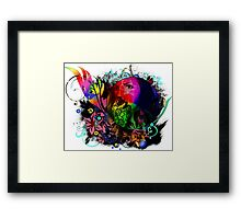 Rainbow Art Framed Print